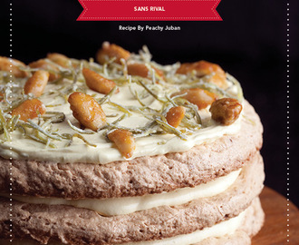 Sans Rival Recipe By Peachy Juban