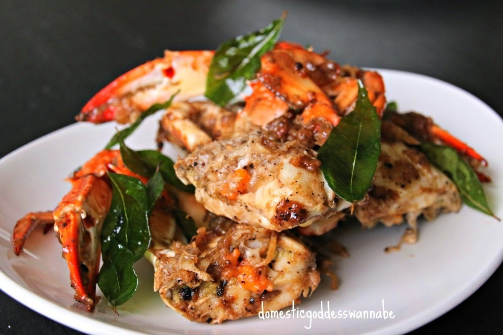 black pepper flower crabs