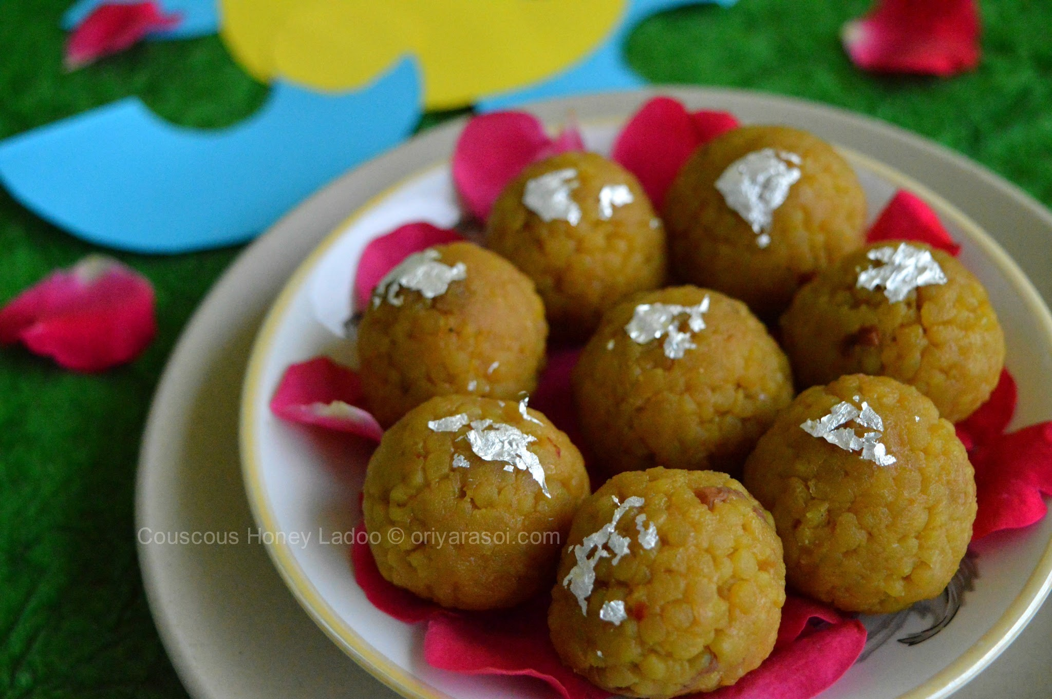 Couscous Honey Laddoo