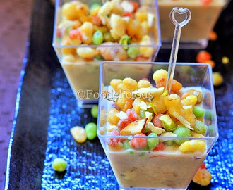 Rainbow Shots | Instant Gulkand Rabadi with Colourful Boondi  | Party Dessert | Step Wise