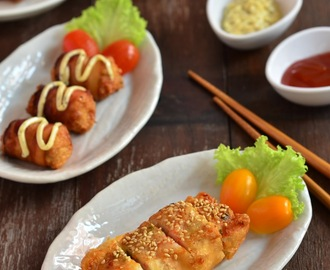 脆炸酿油条 Crispy Fried Stuffed You Tiao