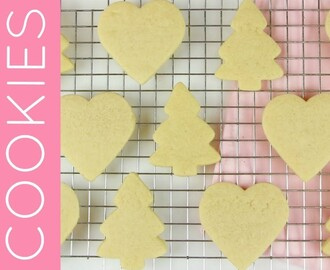 How To Make THE BEST Cut Out Sugar Cookies & Easy Hard Drying Decorating Icing // Lindsay Ann Bakes