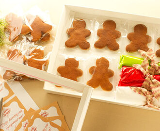 Gingerbread Cookie Recipe and Free Printable Tag