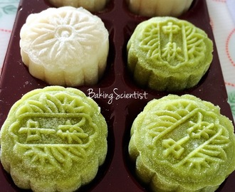 Snowskin Mooncake with Lotus Seeds Paste