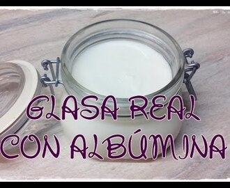 Como hacer glasa real con albúmina  ~ How to make royal icing