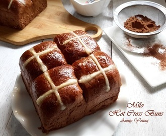美禄十字面包 (Milo Hot Cross Buns)