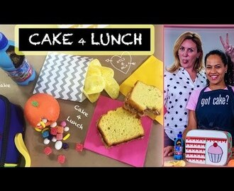 BACK TO SCHOOL CAKES & TREATS with YO from HOW TO CAKE IT | Lunch Box Snacks