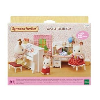 Sylvanian Families Piano & Desk Set