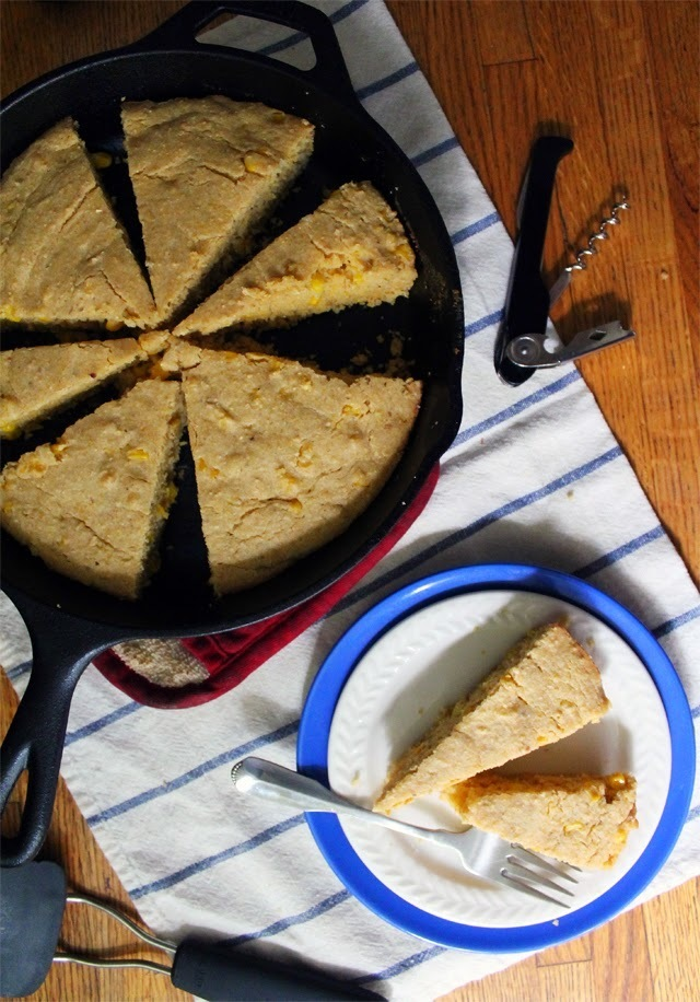 thanksgiving skillet corn bread {bread bakers}