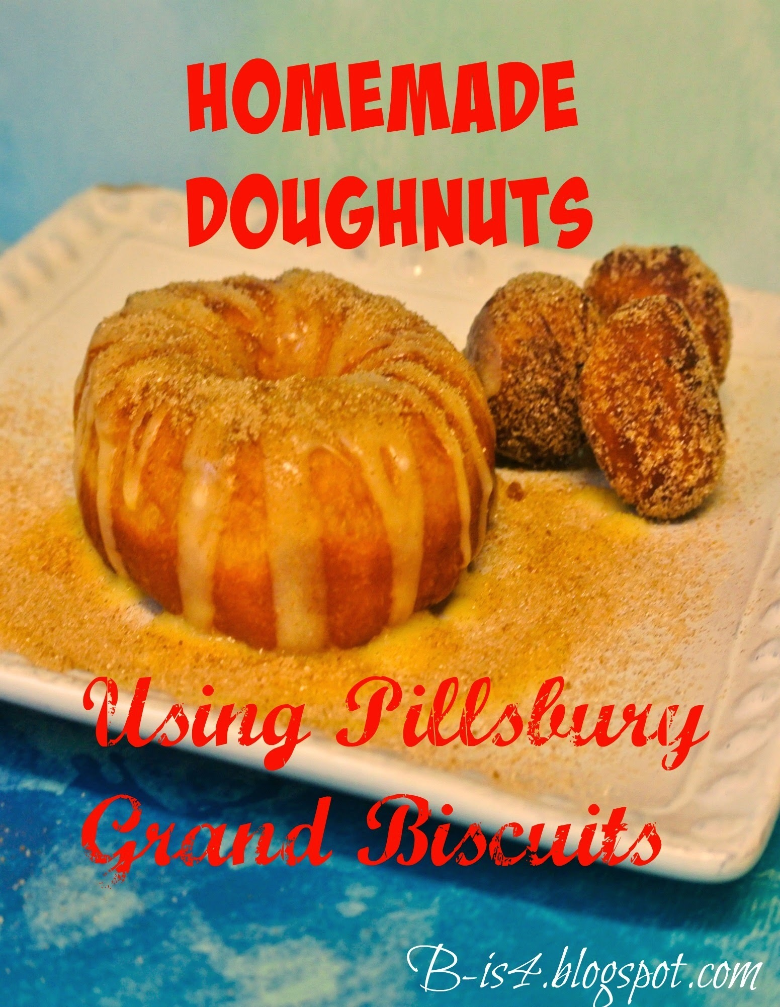 How to Make Homemade Doughnuts Using Pillsbury Biscuits and Giveaway