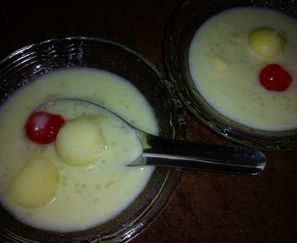 HONEY MELON AND SAGO DESSERT