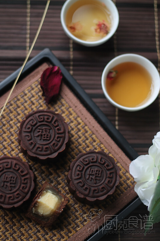 提拉米苏芝士巧克力月饼 【Tiramisu Cheese Chocolate Mooncake】