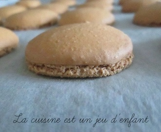 Macarons à la meringue italienne (étapes en photos)