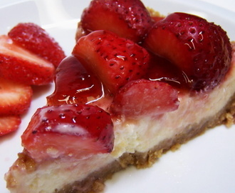 Resep Membuat Kue Strawberry Cheese Pie Enak