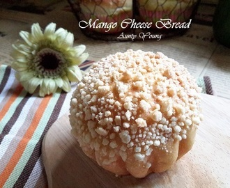 芒果乳酪面包 (Mango Cheese Bread)