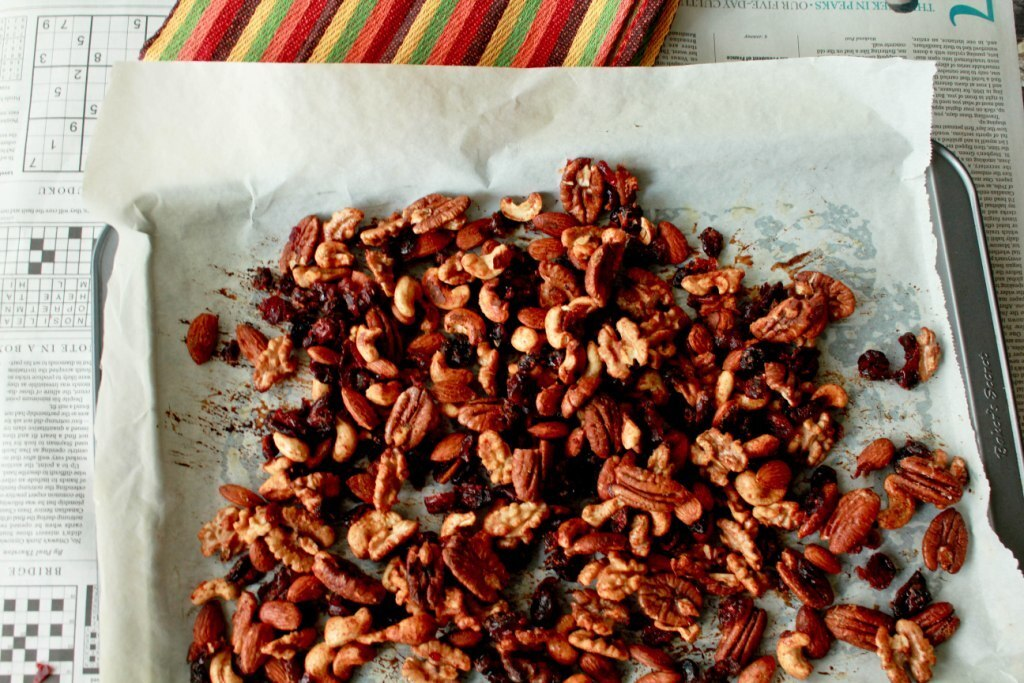 Spiced Nut & Cranberry Mix