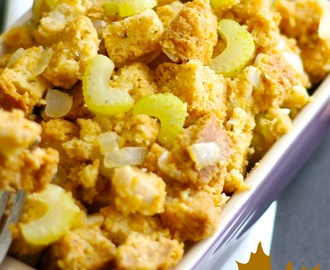Easy Gluten Free Stuffing (Vegan)