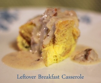 5-Minute Leftover Breakfast Casserole