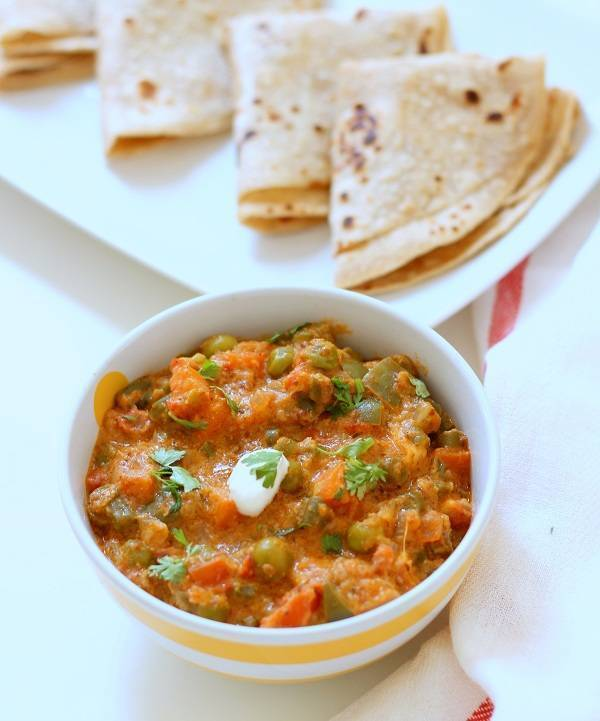 Vegetable Jaipuri Recipe, How to make Vegetable Jaipuri Sabzi