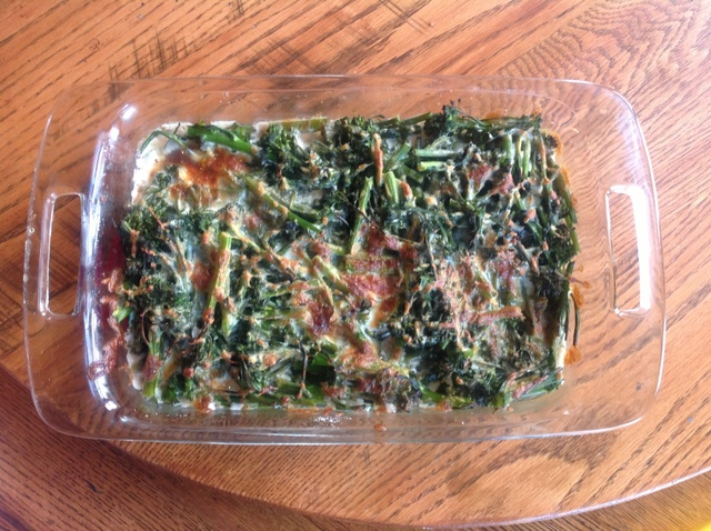 Broccoli Rabe And Cheese Bake