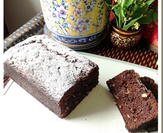 Double Chocolate Banana Quick Bread (巧克力香蕉快速面包)