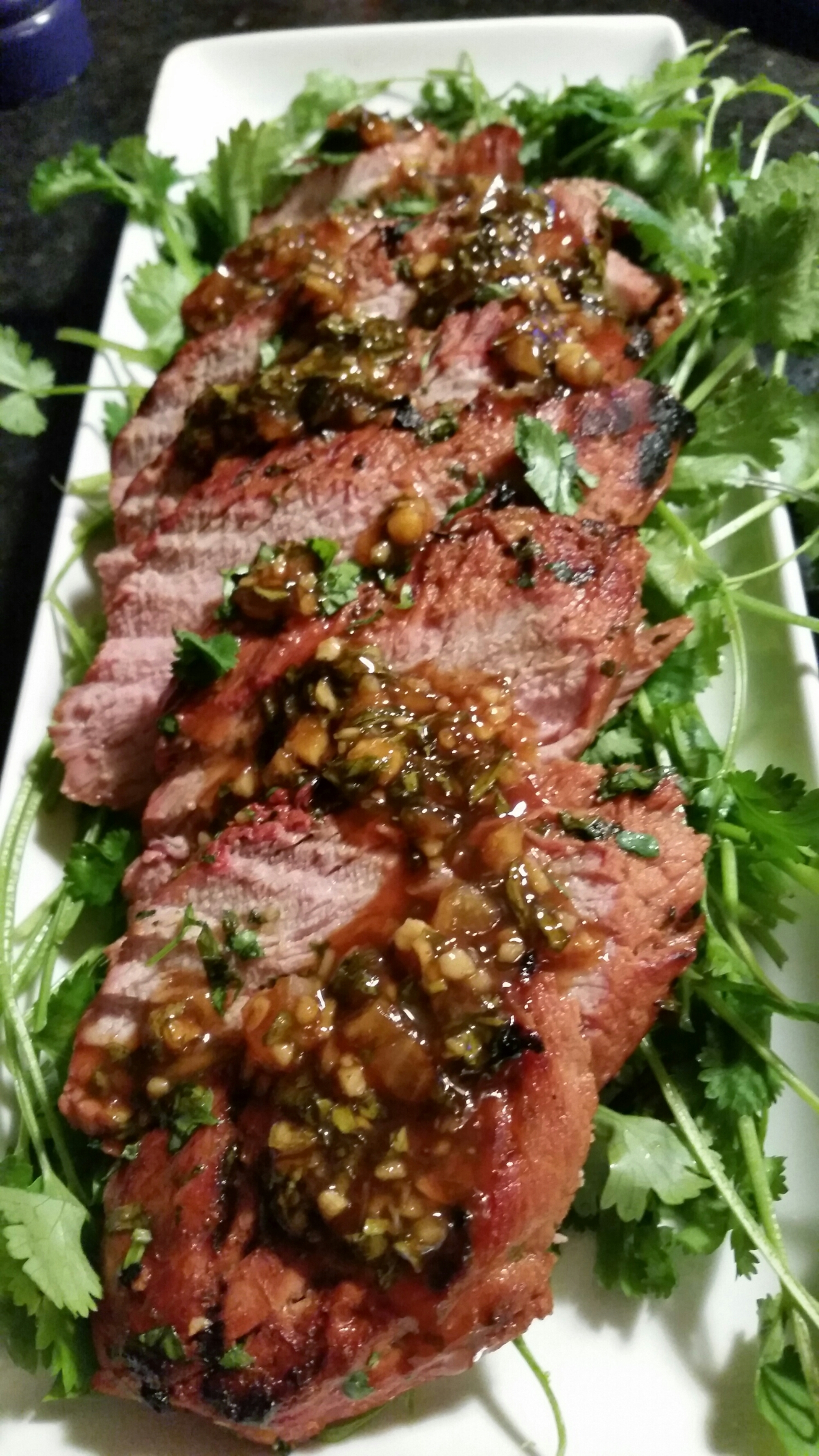Grilled Pork Tenderloin with Honey-Lime Marinade