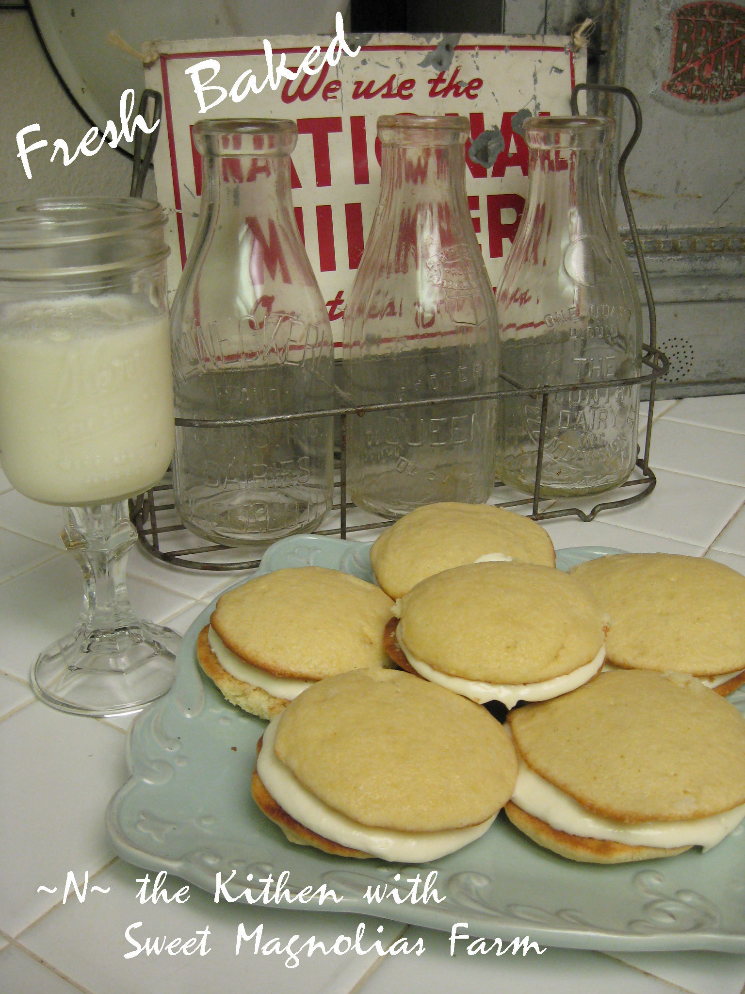 Lemon Whoopie Pies .. Mmm Mmmmm Good .. ~N~ the kitchen with Sweet Magnolias Farm