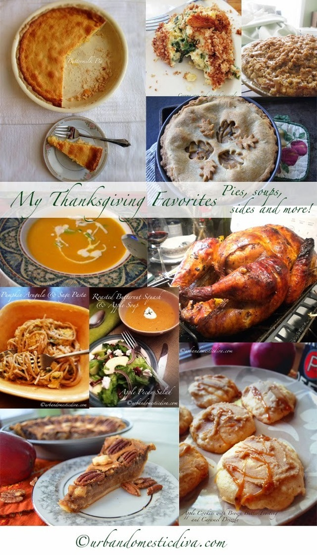 RECIPES: My Thanksgiving Recipe Favorites, a Round Up!