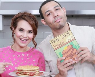 ADVENTURE TIME BACON PANCAKES ft Dawin - NERDY NUMMIES