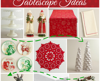 Christmas Tablescape ideas for your Holiday Entertaining