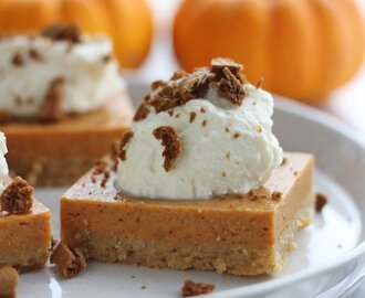 Pumpkin Pie Cheerios Bars