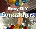 EASY HOMEMADE DIY SUNCATCHERS
