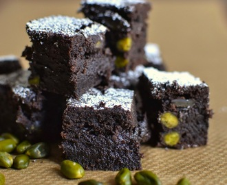 Simple comme un brownie aux pistaches