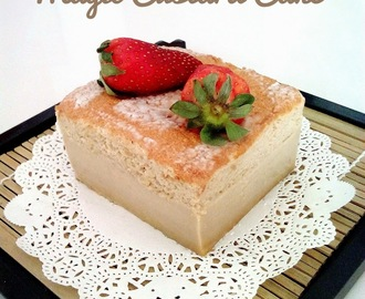 Gula Melaka Magic Custard Cake & 3rd Blogger chef workshop 马六甲椰糖魔术卡士达蛋糕  (中英食谱教程)