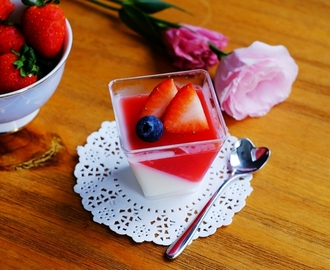 Berries Gelee Panna Cotta