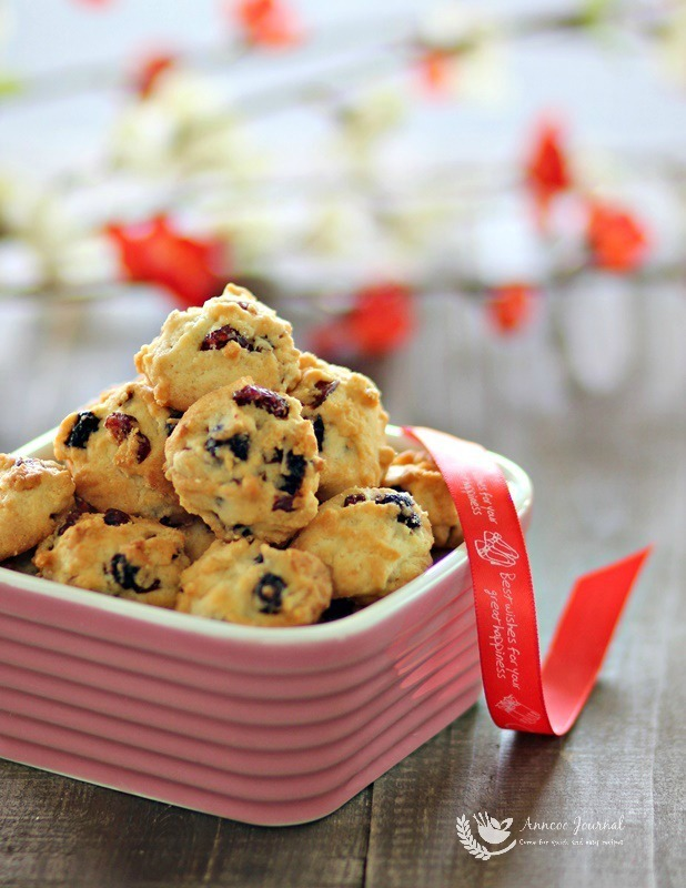 Berry cookies 莓果曲奇 CNY 2016