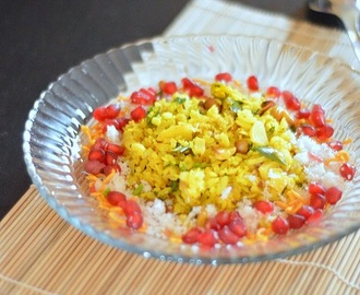 Indori poha recipe - Easy indian breakfast recipes