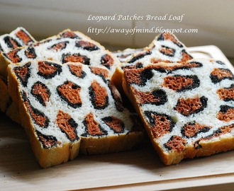 Leopard Patches Bread Loaf (Water Roux Method) 豹纹土司