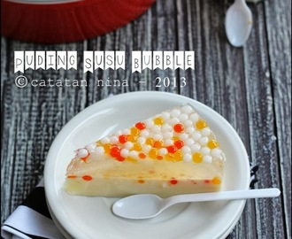 PUDING SUSU BUBBLE