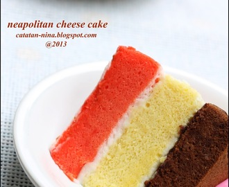 NEAPOLITAN CHEESE CAKE