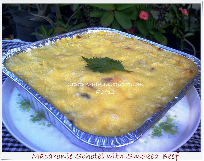 MACARONIE SCHOTEL WITH SMOKED BEEF