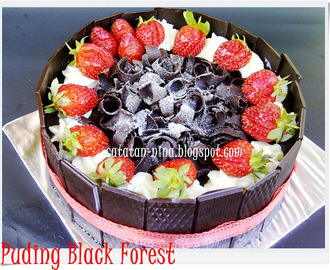PUDING BLACKFOREST