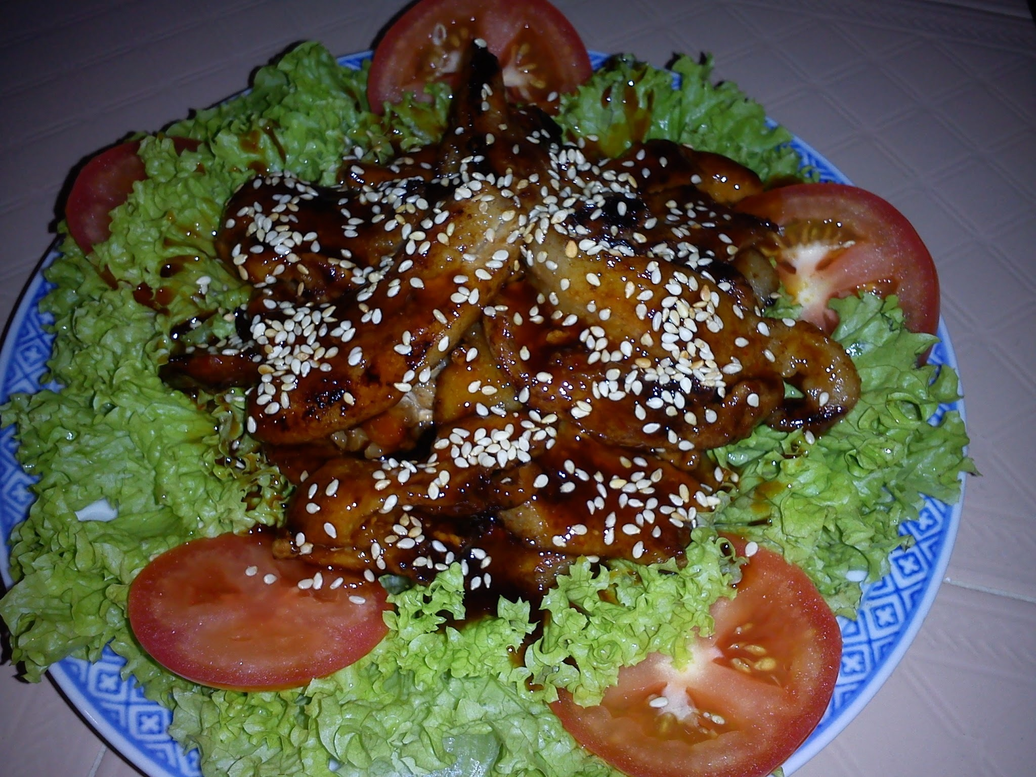 EZCR#42  - FRIED STREAKY PORK BELLY SALAD