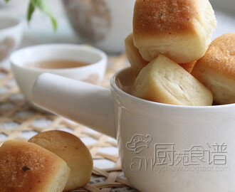 一口蒜香乳酪面包【Mini Garlic Cheese Bread】