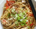 Chinese Style Stir Fried Spaghetti