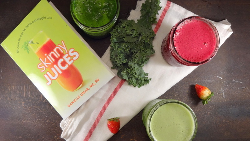 Cookbook Review: Skinny Juices by Danielle Omar, MS, RD