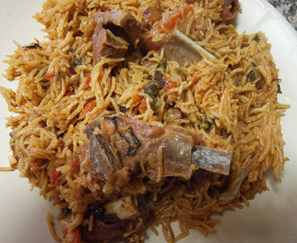 Serve Delicious : SIMPLE MUTTON BIRYANI