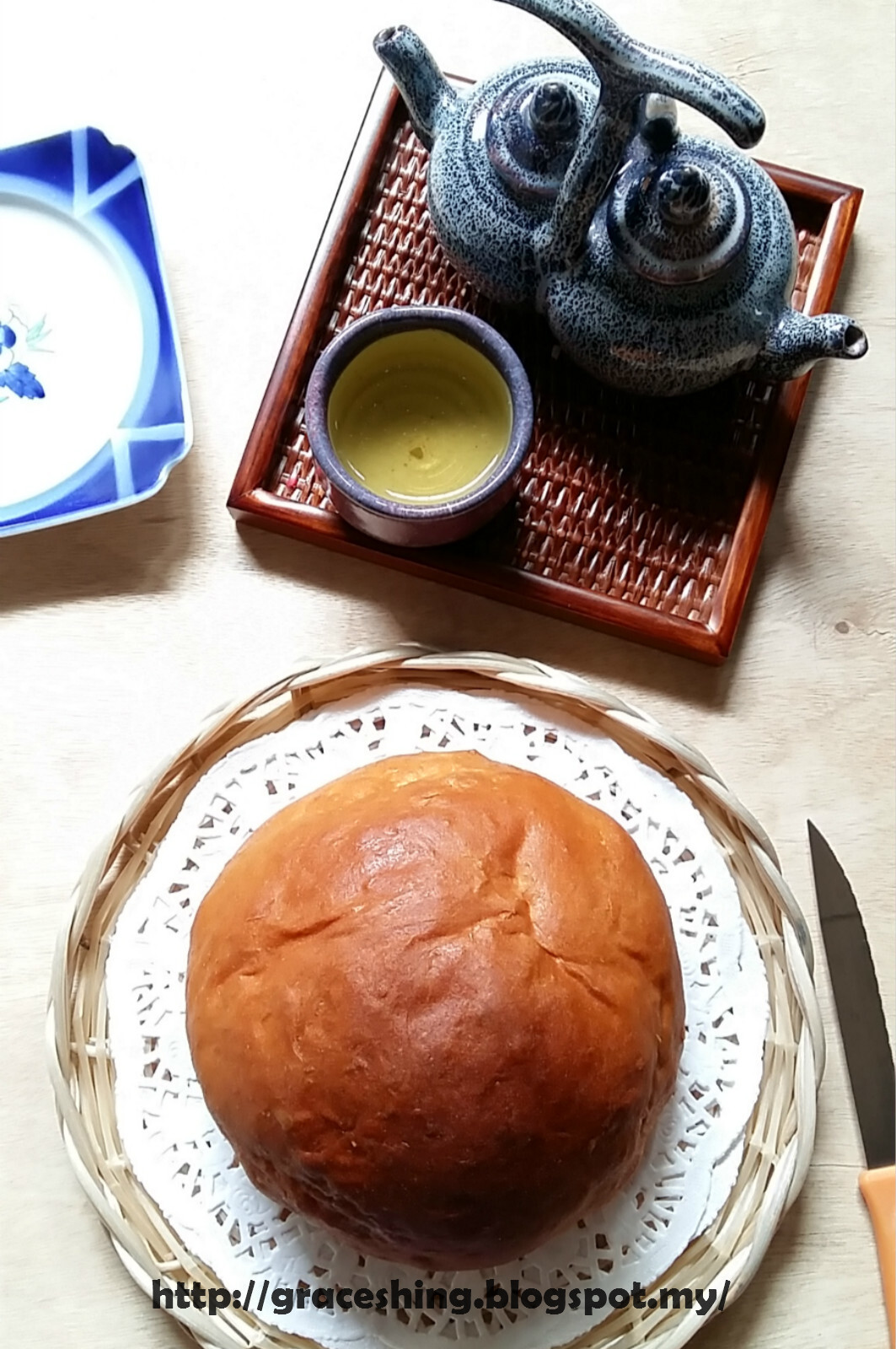 咖喱面包鸡 Curry Chicken Bread
