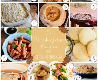 Thanksgiving Recipe Roundup 2014
