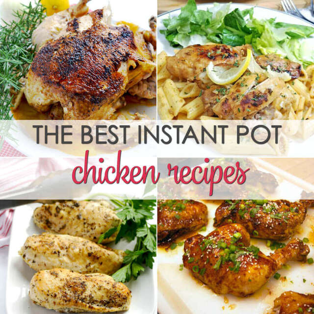 20 Instant Pot Chicken Recipes
